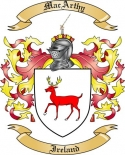 Mac Arthy Family Crest from Ireland2
