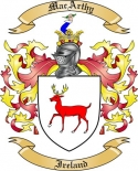 Mac Arthy Family Coat of Arms from Ireland