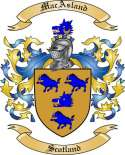 Mac Asland Family Coat of Arms from Scotland