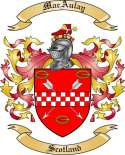 Mac Aulay Family Coat of Arms from Scotland