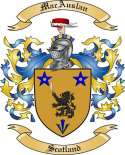Mac Auslan Family Crest from Scotland2