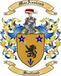Mac Ausland Family Coat of Arms from Scotland2