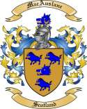 Mac Auslane Family Coat of Arms from Scotland