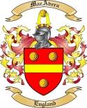 Mac Avera Family Crest from England