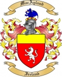 Mac Ayland Family Crest from Ireland