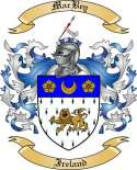 Mac Bey Family Coat of Arms from Ireland