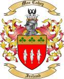 Mac Cahey Family Coat of Arms from Ireland