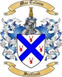 Mac Caluim Family Coat of Arms from Scotland