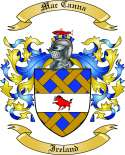 Mac Canna Family Crest from Ireland