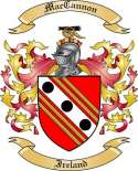 Mac Cannon Family Coat of Arms from Ireland