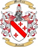 Mac Cart Family Coat of Arms from Ireland