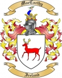 Mac Carthy Family Crest from Ireland