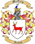 Mac Carty Family Crest from Ireland