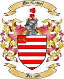 Mac Cawel Family Coat of Arms from Ireland