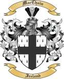 Mac Chain Family Crest from Ireland2
