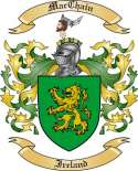 Mac Chain Family Crest from Ireland