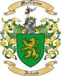 Mac Cheine Family Coat of Arms from Ireland