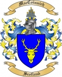 Mac Coinnich Family Coat of Arms from Scotland