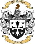 Mac Coleman Family Crest from Ireland