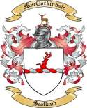 Mac Corkindale Family Coat of Arms from Scotland2