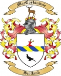 Mac Corkindale Family Coat of Arms from Scotland