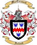 Mac Cormack Family Crest from Ireland