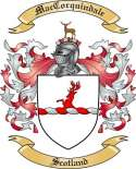 Mac Corquindale Family Crest from Scotland2