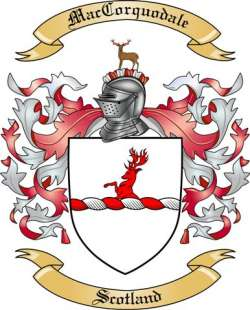 Mac Corquodale Family Coat of Arms from Scotland2