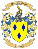 Mac Costello Family Coat of Arms from Ireland