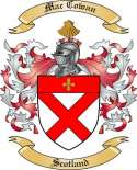Mac Cowan Family Crest from Scotland