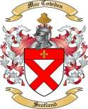 Mac Cowden Family Coat of Arms from Scotland