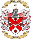Mac Crackan Family Coat of Arms from Ireland