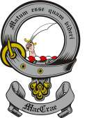 Mac Crae Family Crest from Scotland