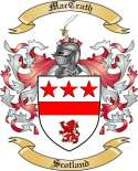 Mac Crath Family Coat of Arms from Scotland2