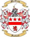 Mac Craw Family Coat of Arms from Scotland2