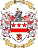Mac Cray Family Crest from Scotland2