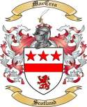 Mac Crea Family Coat of Arms from Scotland2