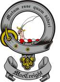 Mac Creight Family Crest from Scotland