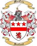 Mac Crie Family Crest from Scotland2