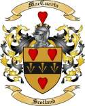 Mac Cuarta Family Crest from Scotland