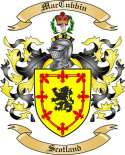 Mac Cubbin Family Crest from Scotland