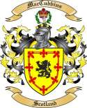 Mac Cubbins Family Crest from Scotland