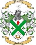 Mac Cue Family Crest from Ireland