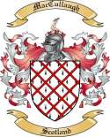 Mac Cullaugh Family Coat of Arms from Scotland