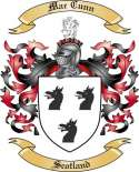 Mac Cunn Family Coat of Arms from Scotland