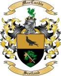 Mac Curdie Family Crest from Scotland