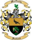 Mac Curdy Family Coat of Arms from Scotland