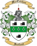 Mac Cutchan Family Crest from Scotland2