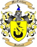 Mac Cutchan Family Crest from Scotland