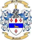 Mac David Family Coat of Arms from Scotland